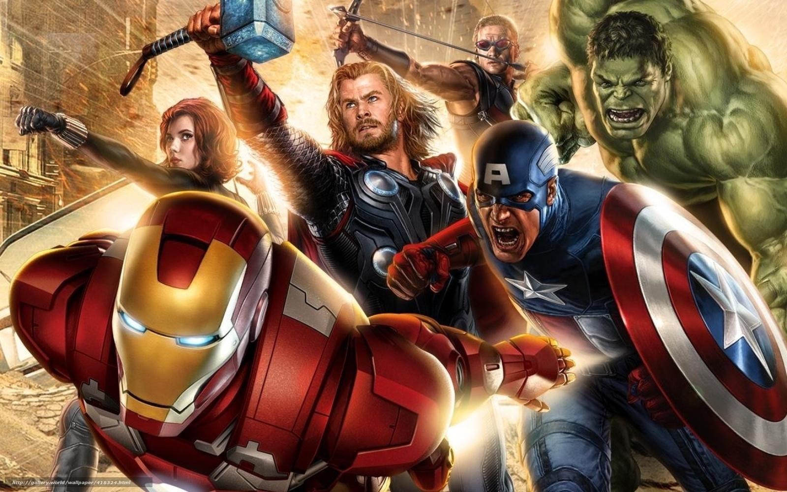 Supereroi, L'uomo di ferro, Avengers, Iron Man, Captain America, La ...