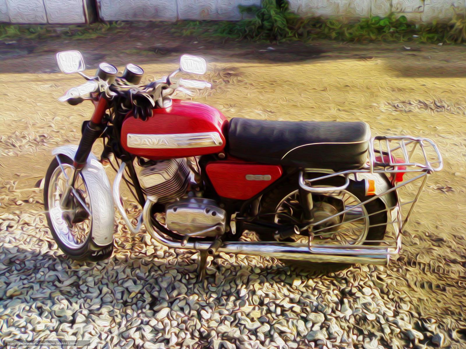 Фото Мотоцикла Ява 350 Люкс