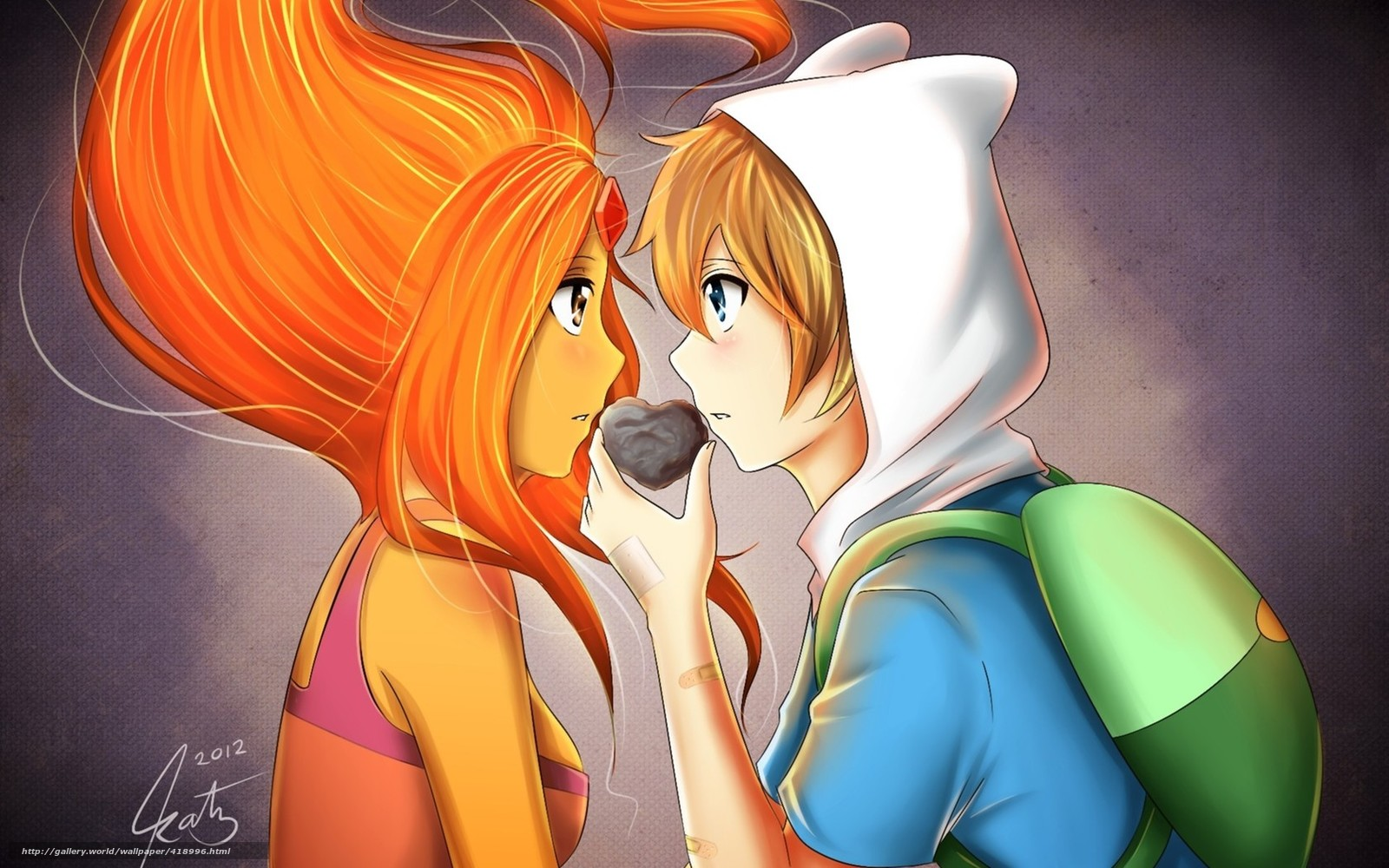 Картинки аниме девушки любовь