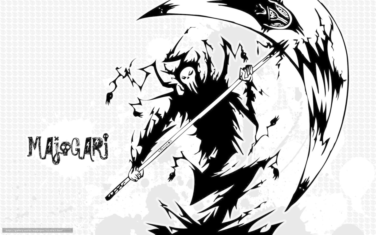 死神镰刀壁纸内容|死神镰刀壁纸图片