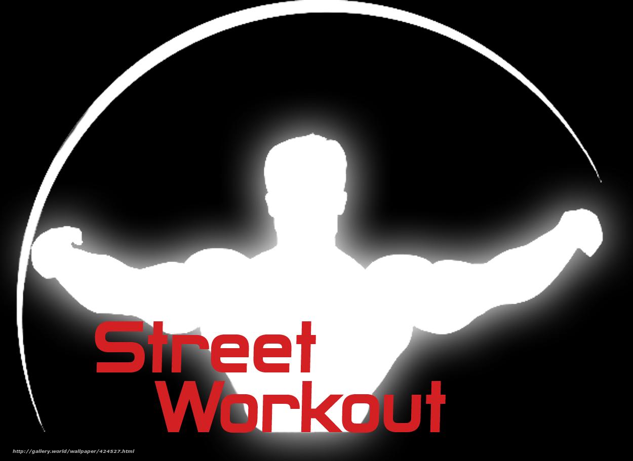 Find: sw , street workout , logo vorkaut , workout on a black ...
