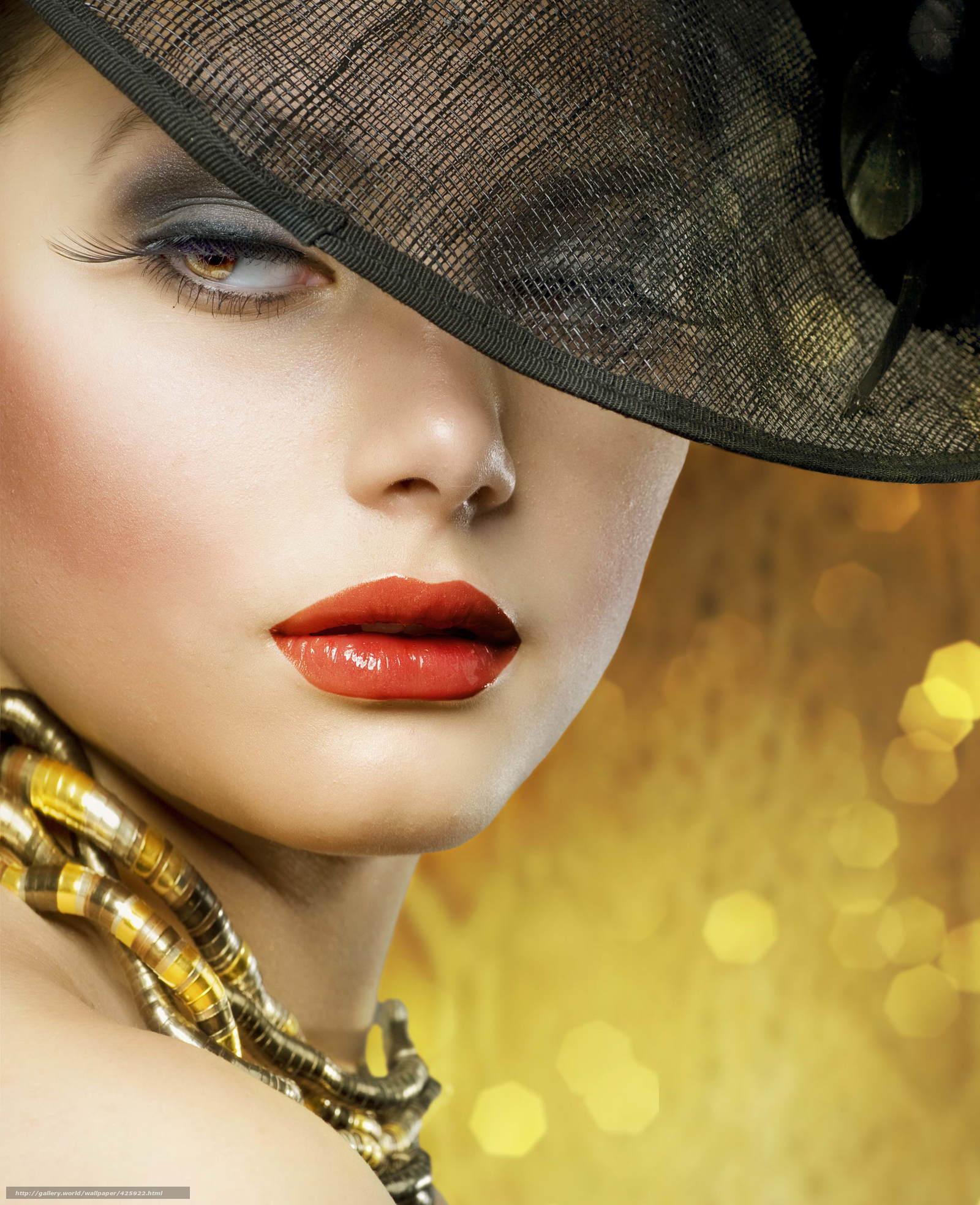 Download wallpaper woman, fashion, style, portrait free desktop