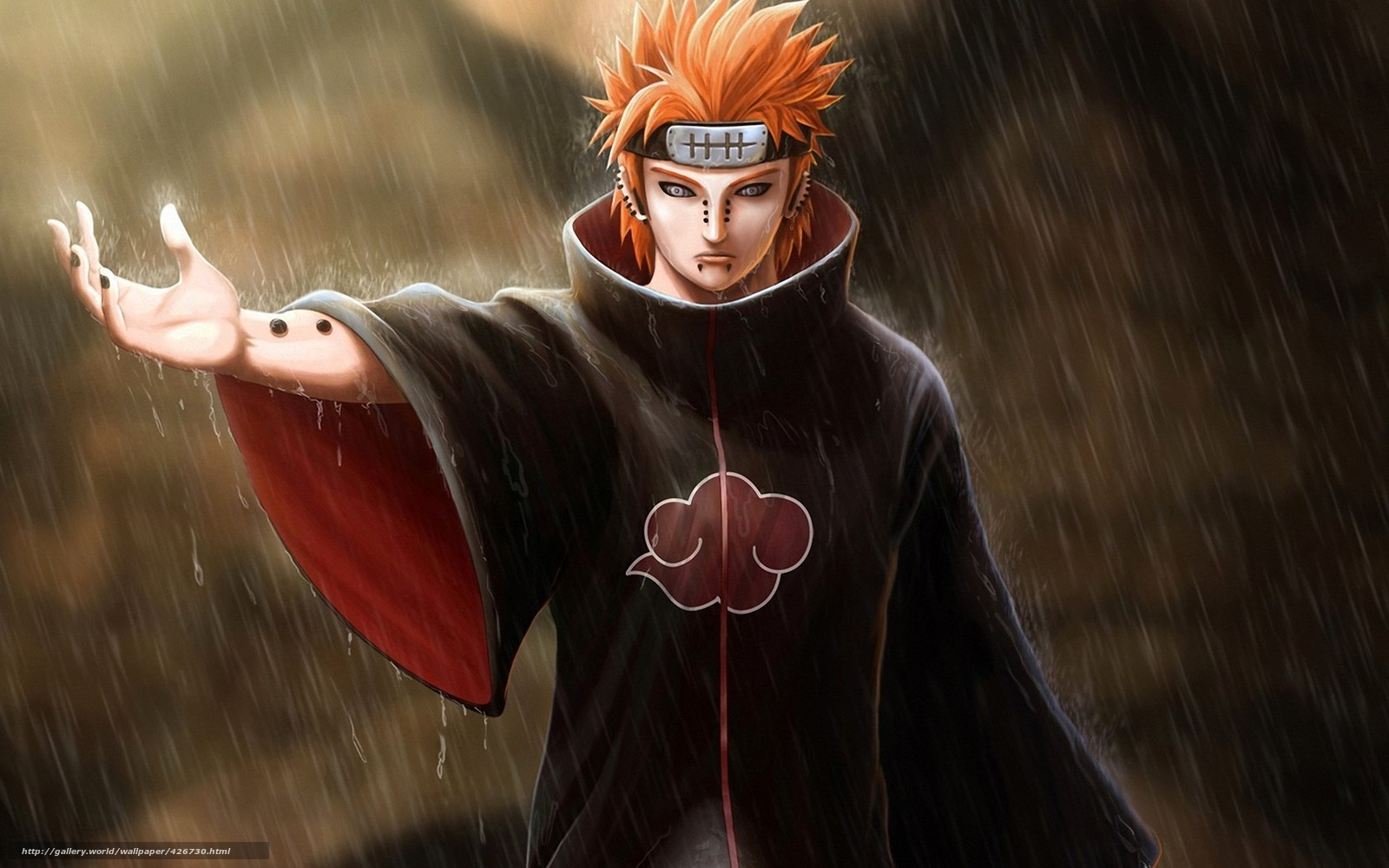 Download wallpaper Art, naruto, pain, guy free desktop wallpaper