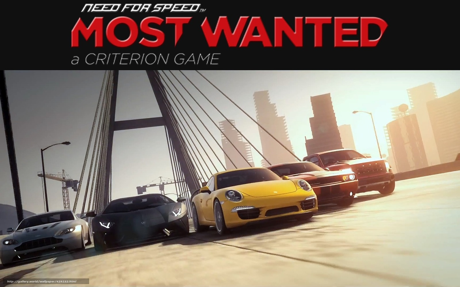 Need For Speed Most Wanted 2 - обои для рабочего стола