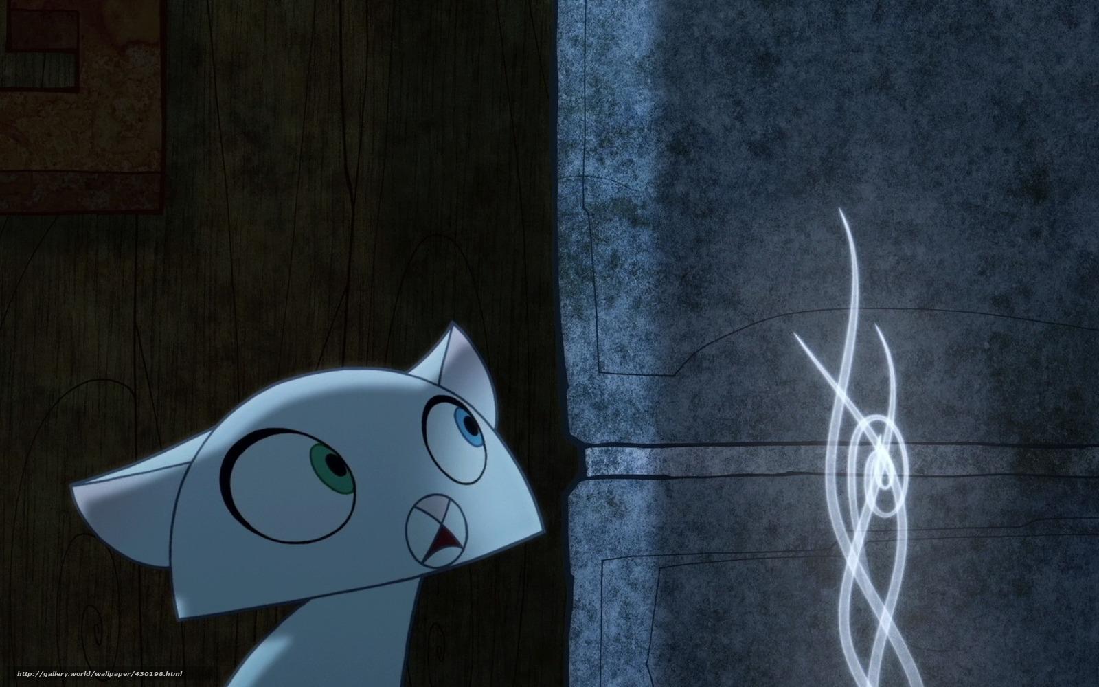Fantasia  Desenho Animado  Pangur Ban  Noite  Secret Of Kells  Gato