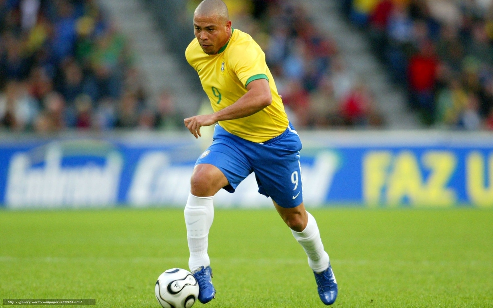Tapete Stern Legende Fuballer Brasilien Nationalmannschaft Ronaldo Luis Nazario Ja Lima
