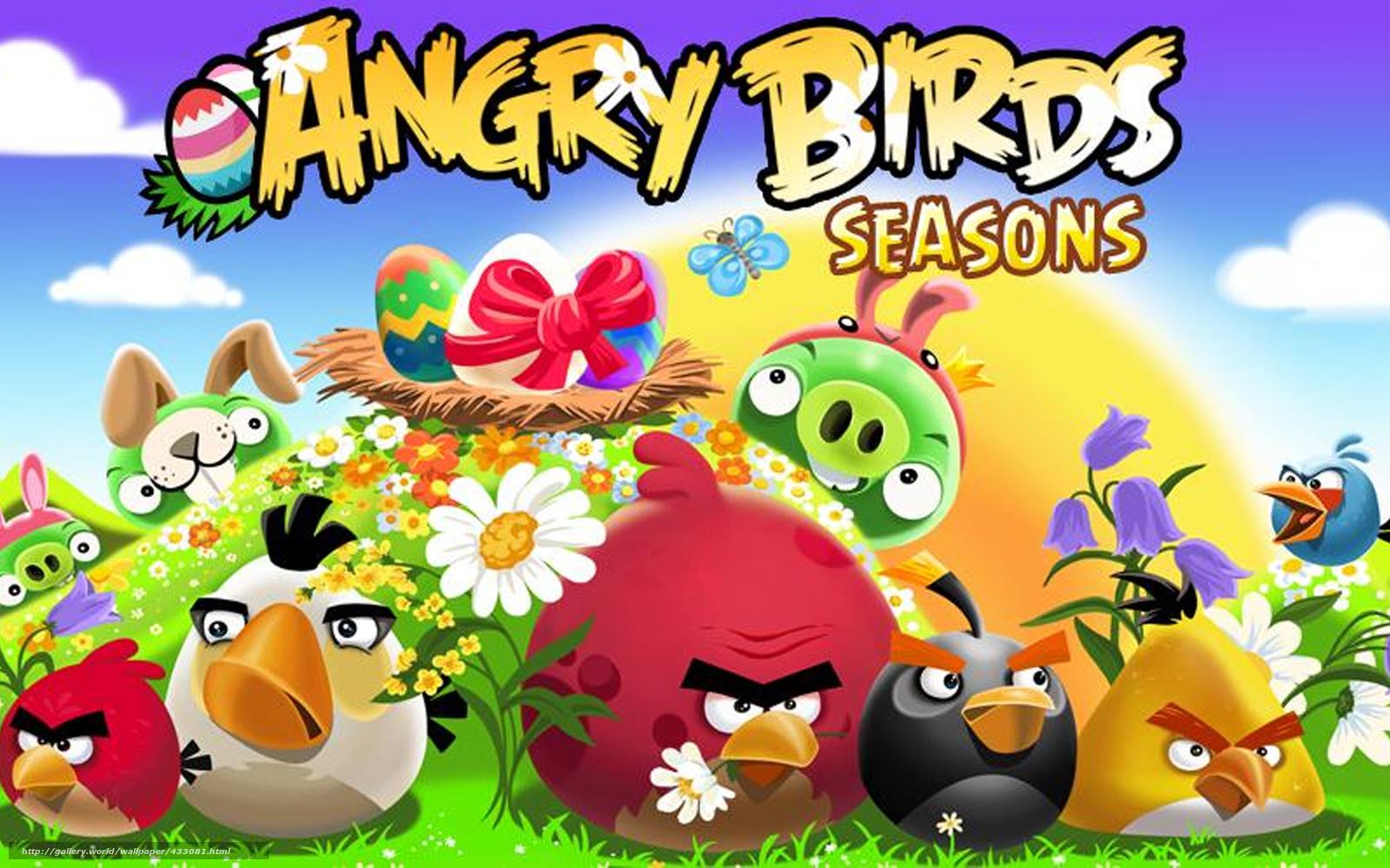 Скачать angry birds картинки