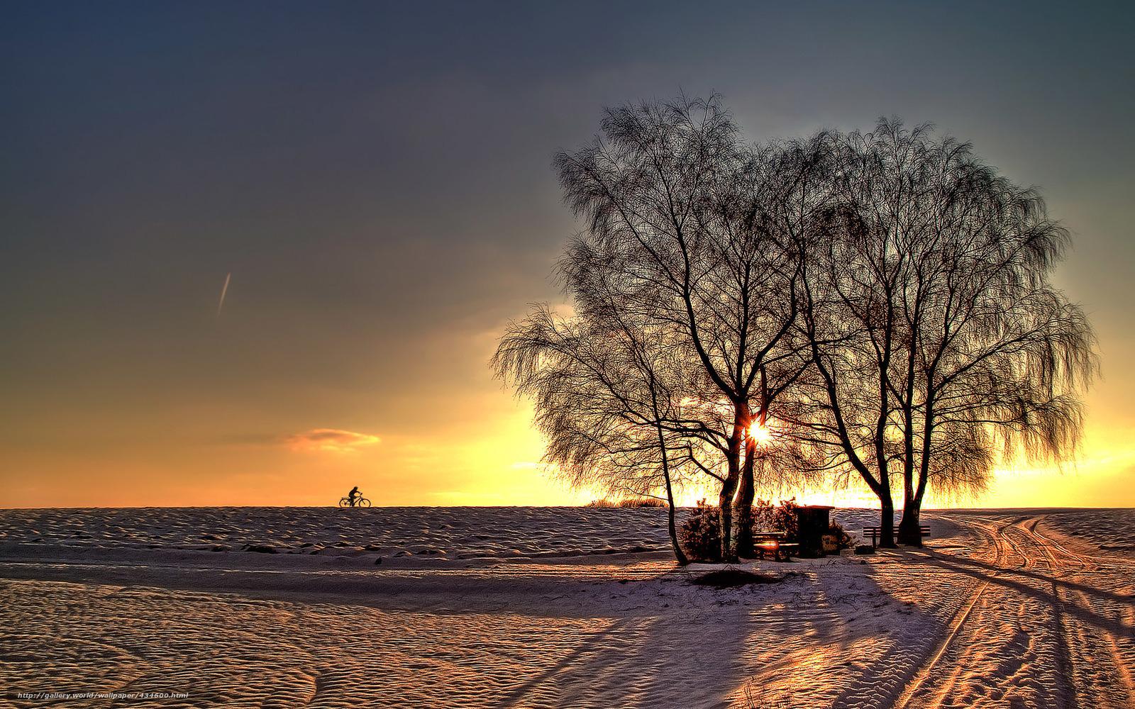 tlcharger fond d 39 ecran magnifique coucher de soleil arbres ciel paysage fonds d 39 ecran. Black Bedroom Furniture Sets. Home Design Ideas