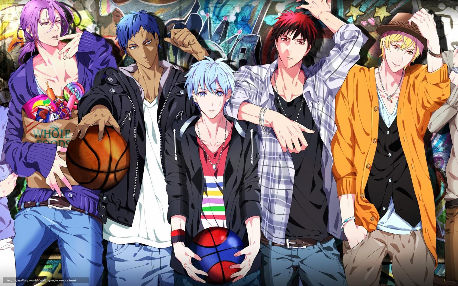 смотреть аниме баскетбол куроко
