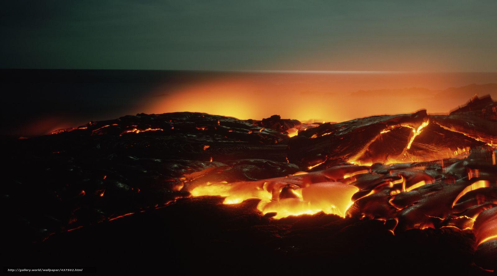 download wallpaper hell lava incandescent landscape. Black Bedroom Furniture Sets. Home Design Ideas