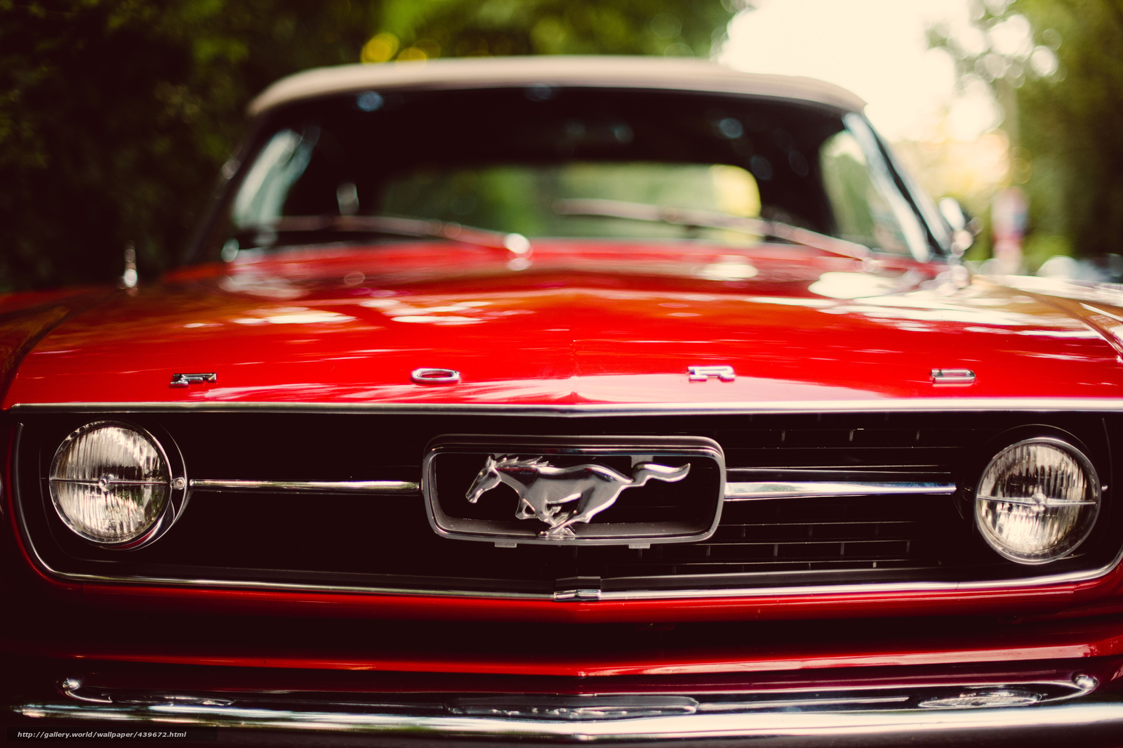 Download wallpaper ford mustang red classic free desktop wallpaper in the - Ford mustang vintage ...