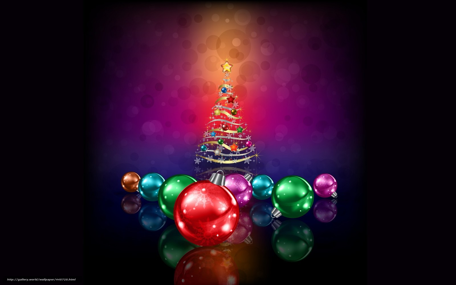 Download wallpaper christmas decorations tree holiday for Find christmas decorations