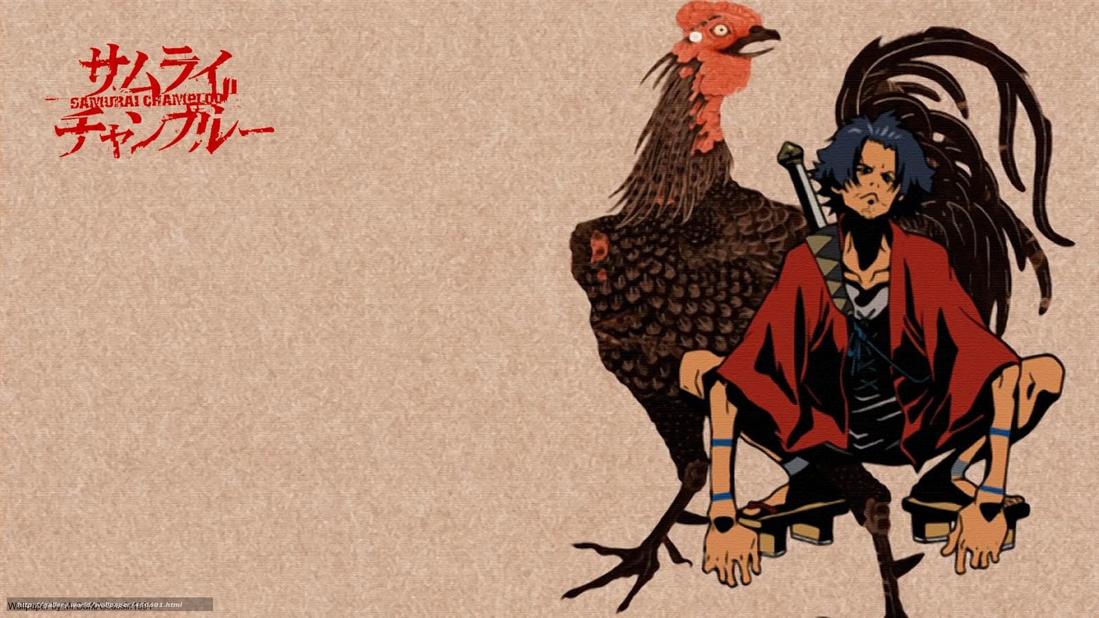 Samurai Champloo 1920X1080 Forever Alone Wallpaper