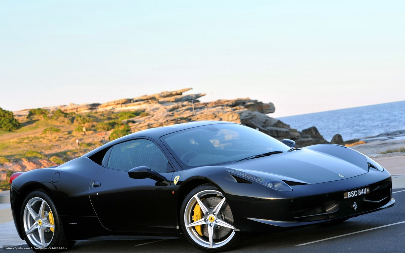 Download Wallpaper Ferrari Black Sea Ferrari Free