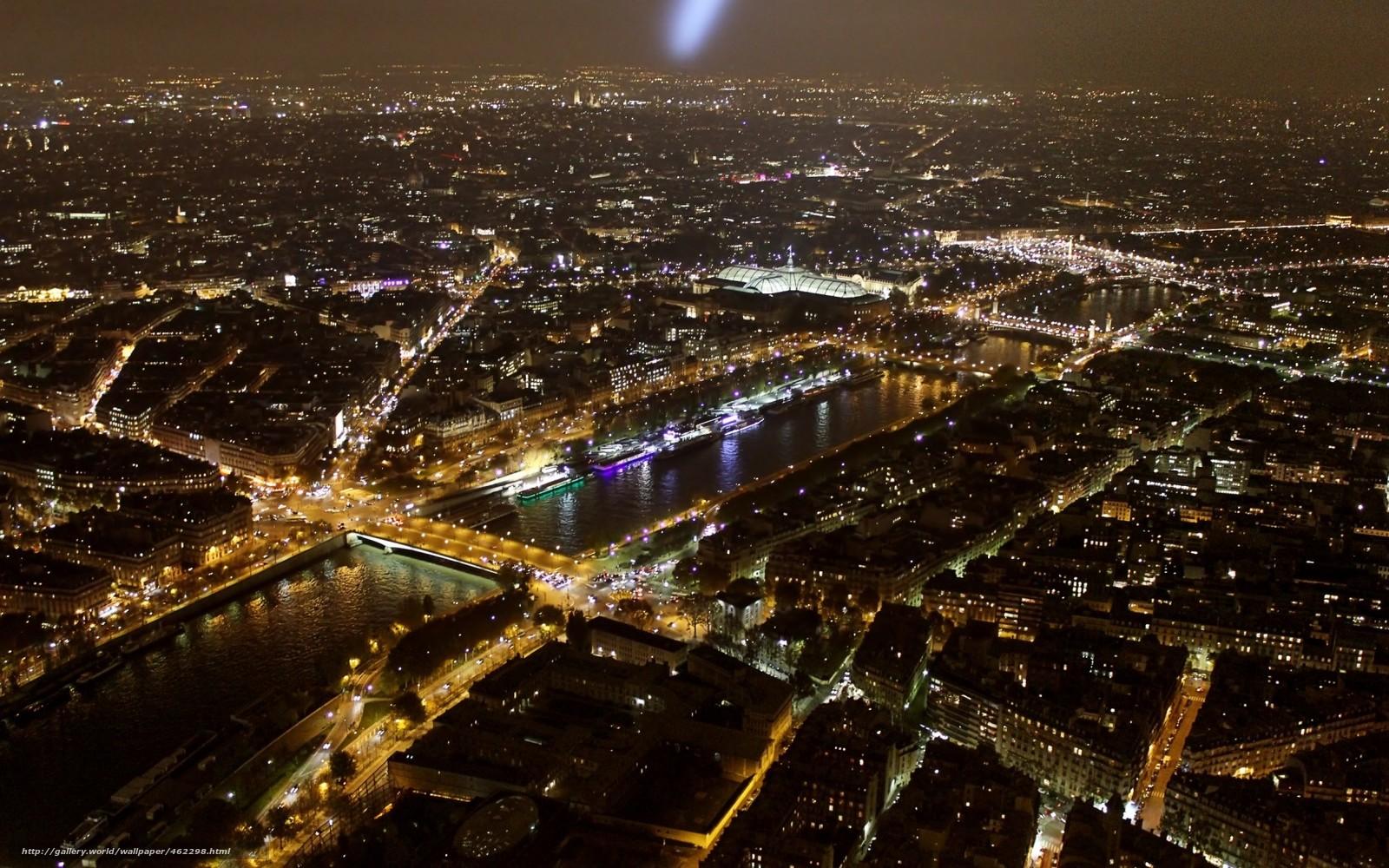 Tlcharger fond d 39 ecran france paris tour eiffel ville for Piscine de nuit paris
