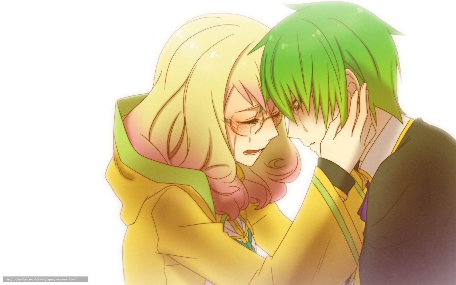 картинки бесплатно аниме любовь: