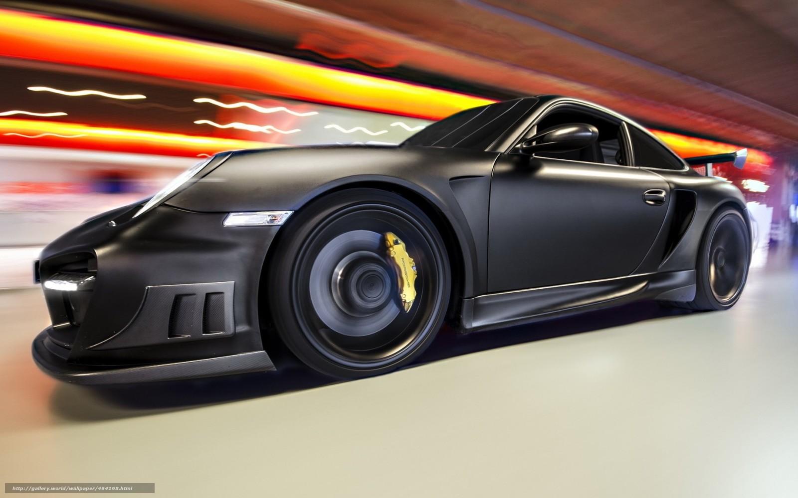 Download Wallpaper Black Supercar Tuning Rate Free