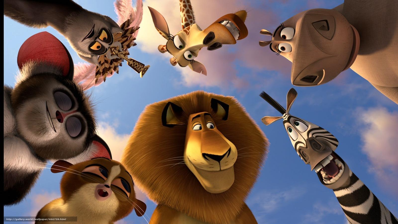 Scaricare gli sfondi cartone animato animali