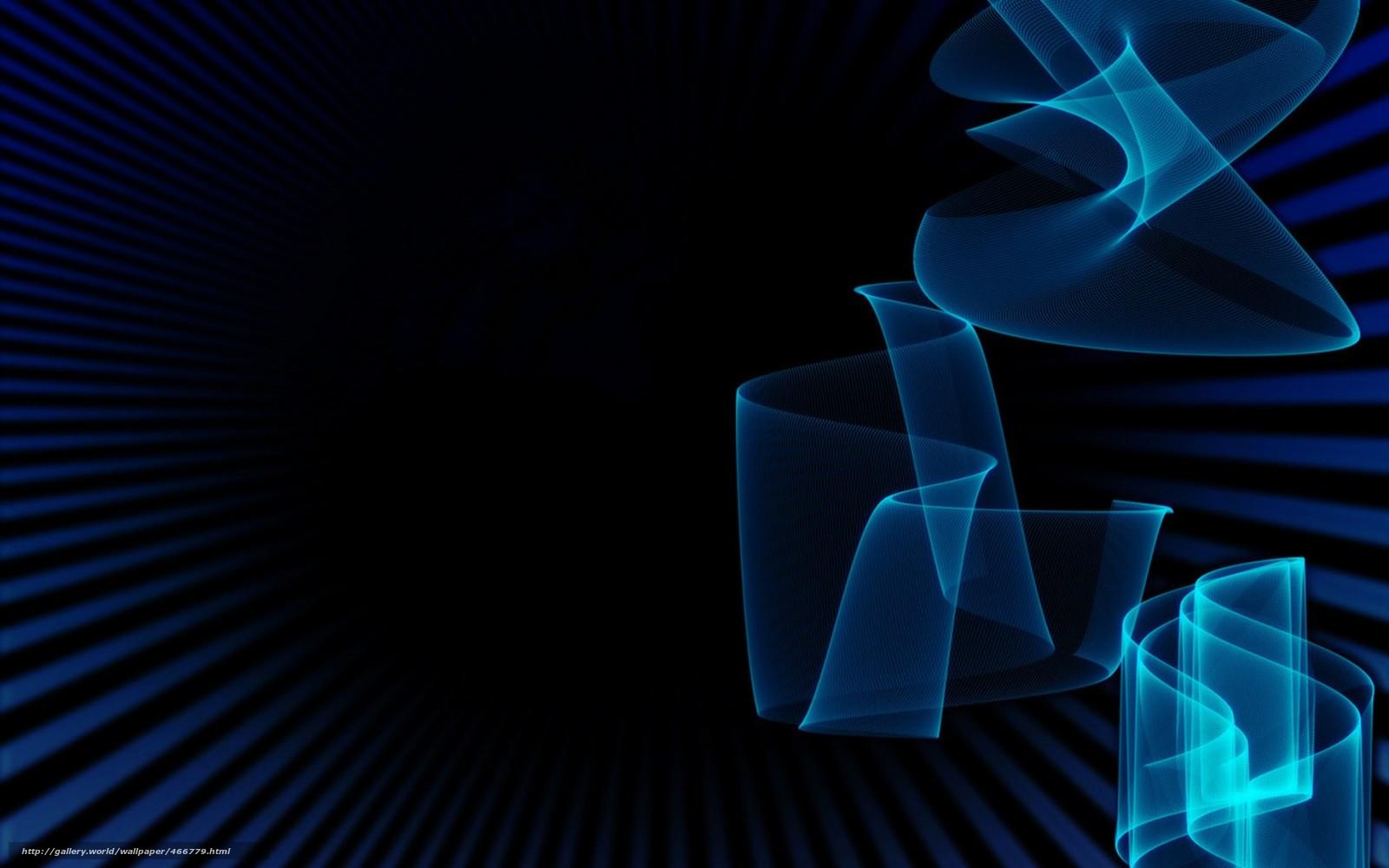 Черный цвета синий фон абстракция
