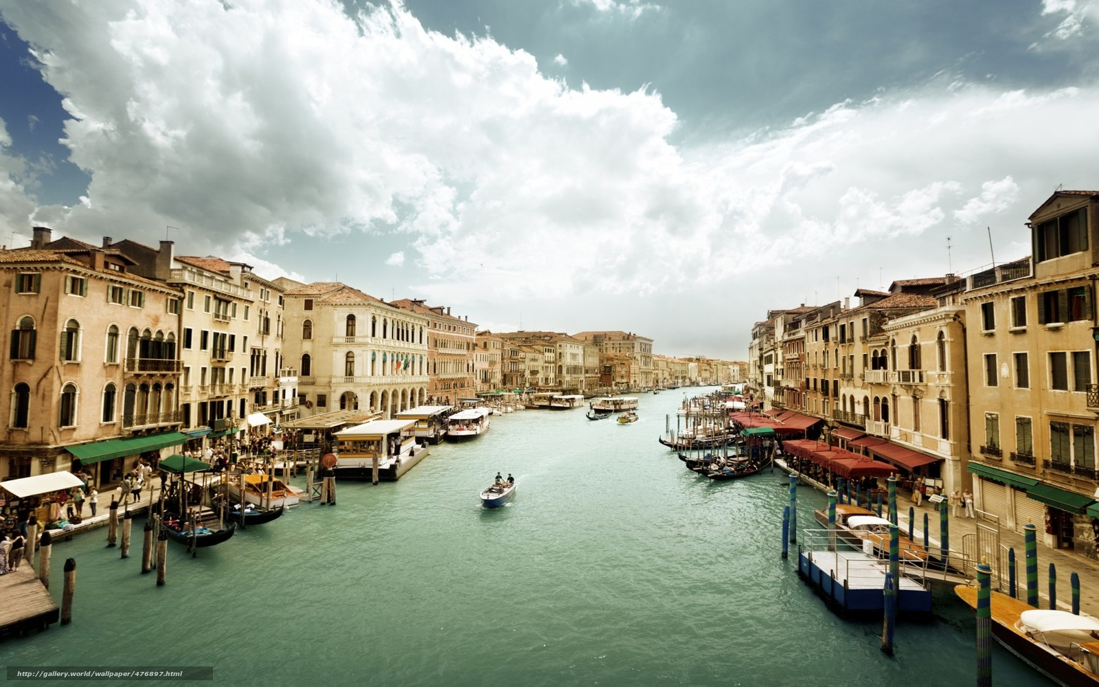 Wallpapers Venice, Italy, The Grand Canal, architecture, building