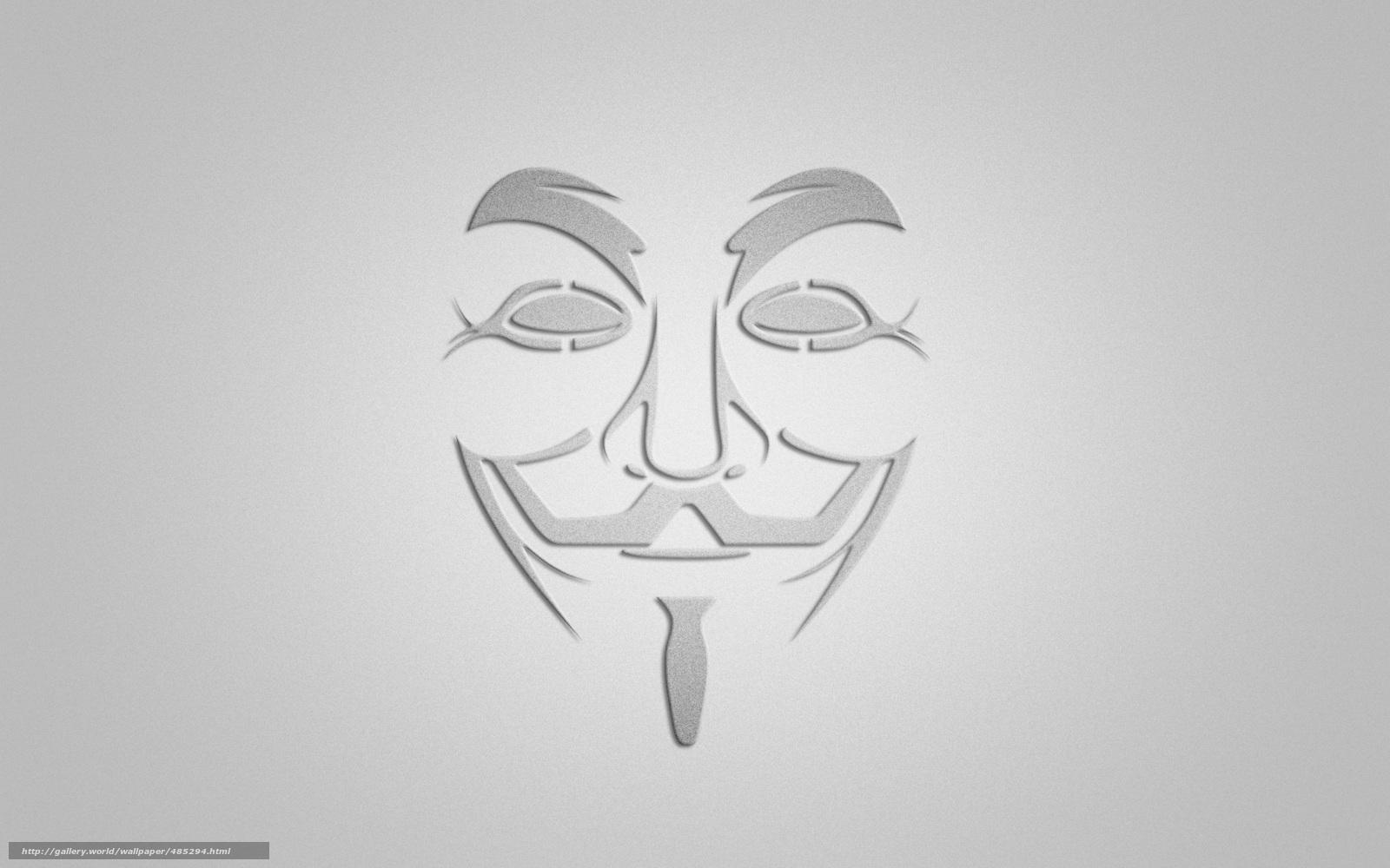 Download wallpap...V For Vendetta Mask Wallpaper