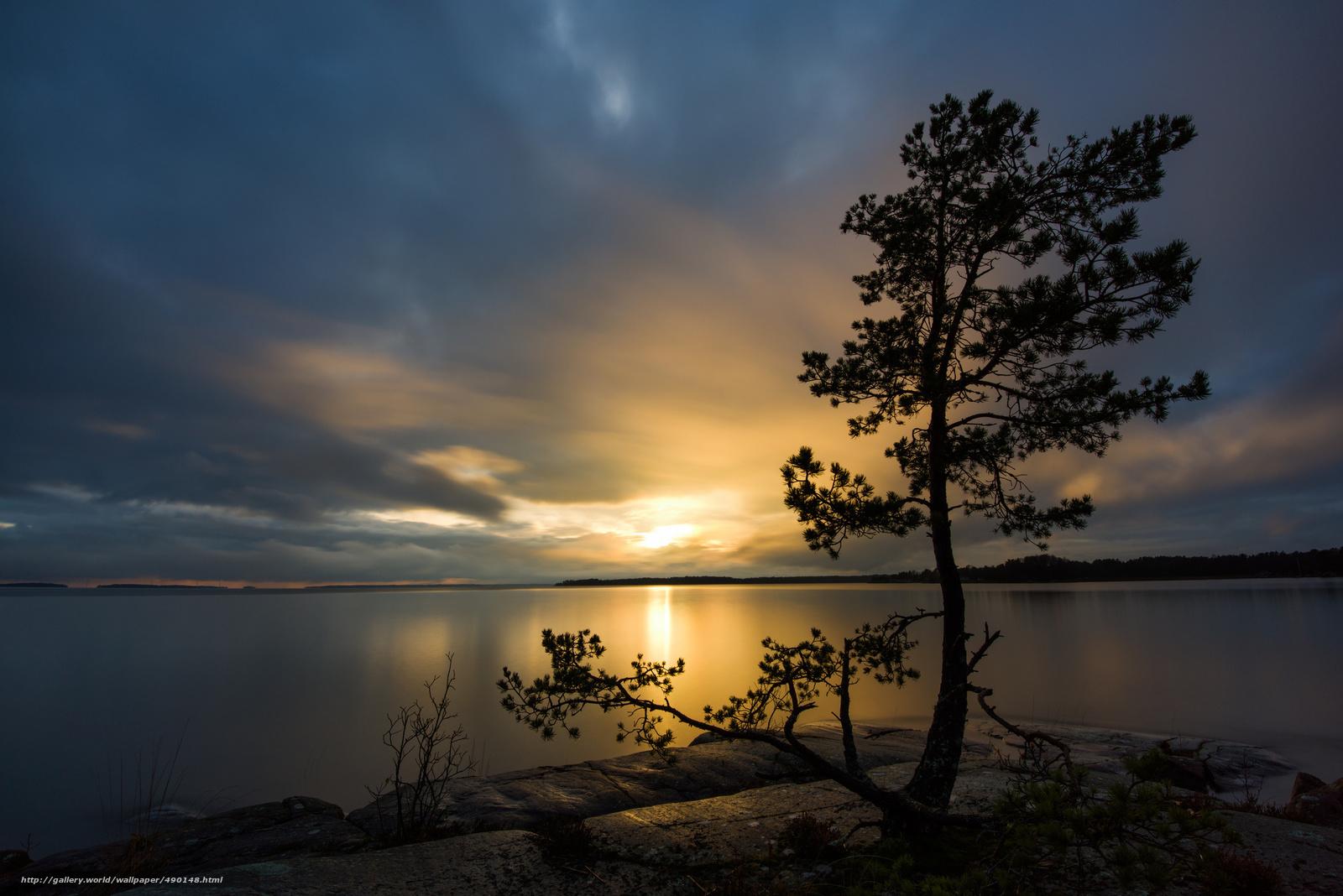 Download wallpaper sweden sweden lake sunset free - Wallpaper picture ...