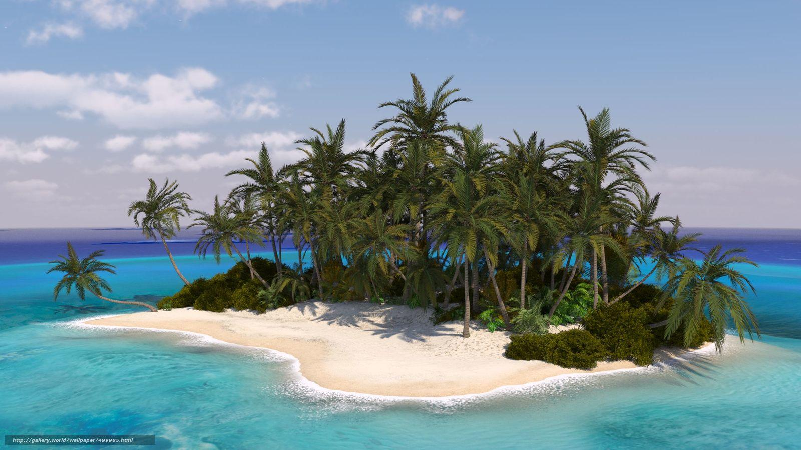 island 3d picture wallpaper - photo #5