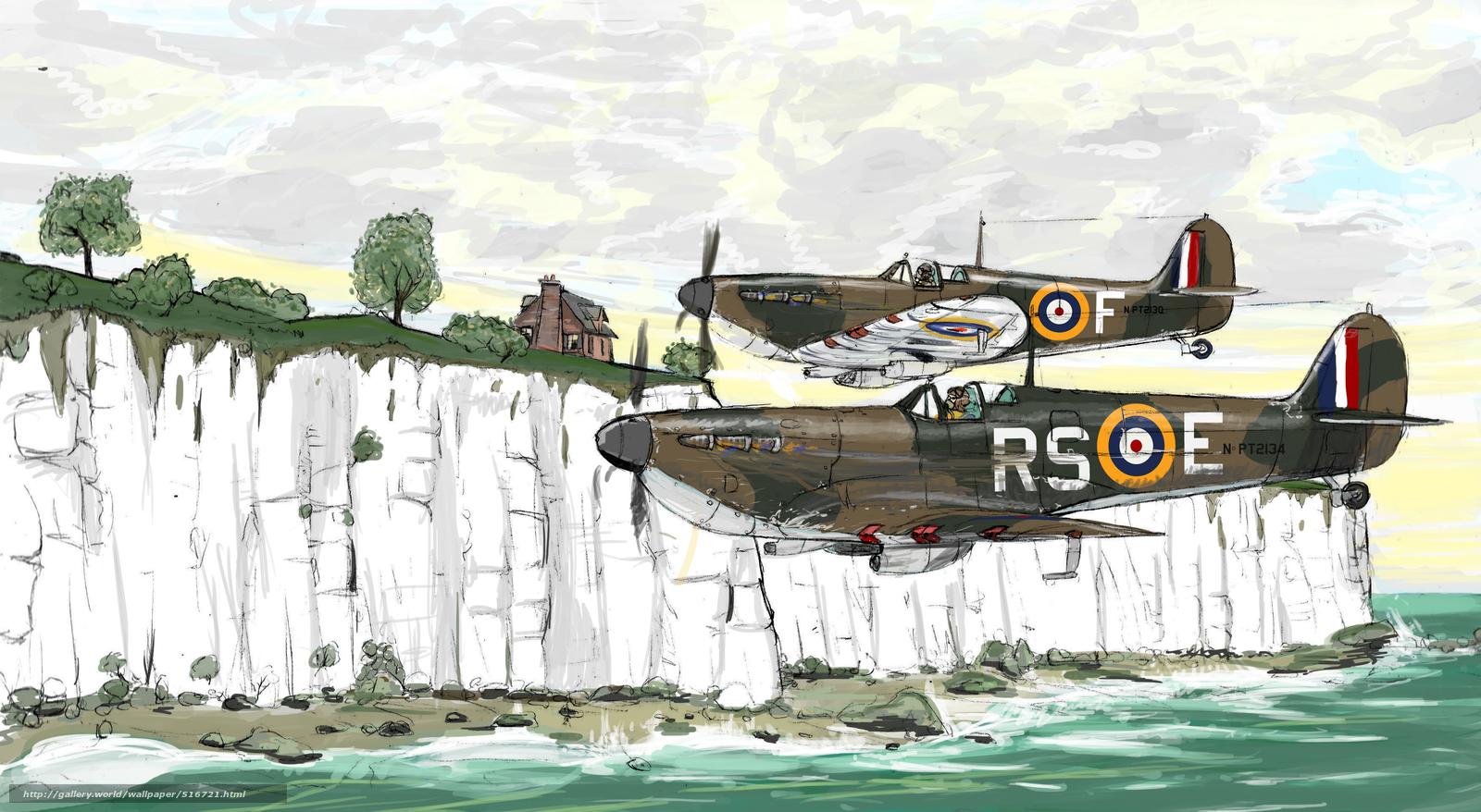 Авиация вторая мировая война рисунок