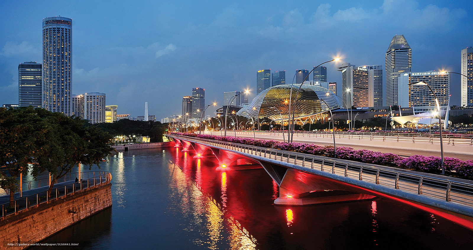 Download wallpaper singapore evening twilight lights for Wallpaper home singapore