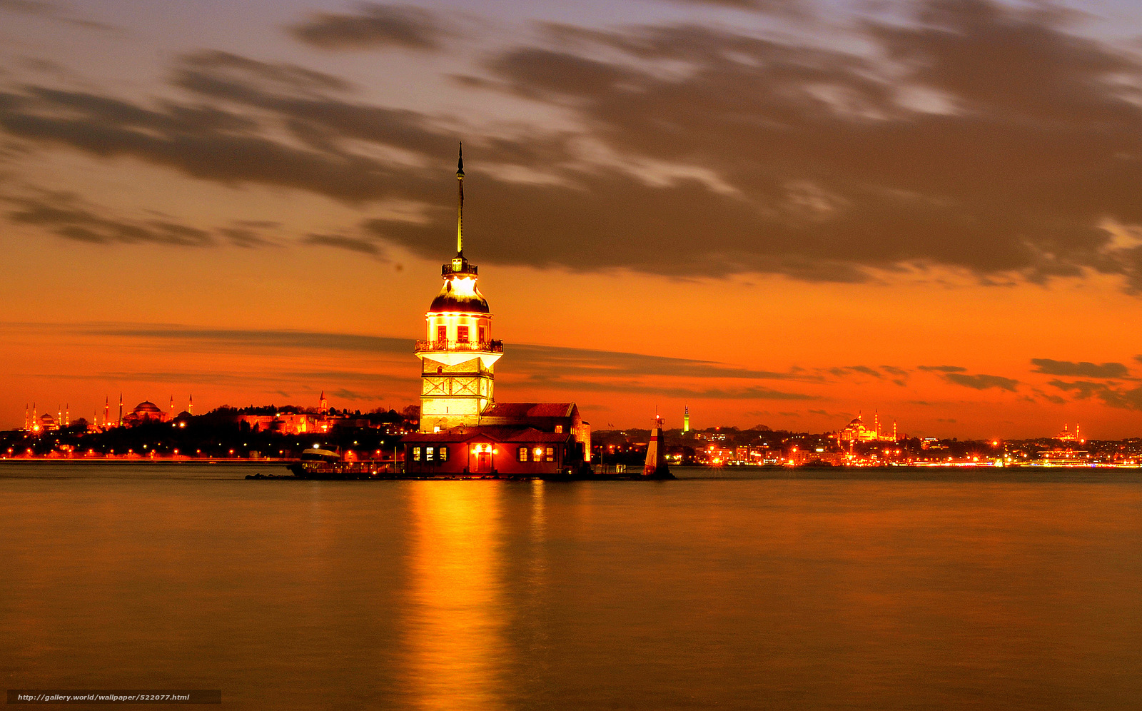 Download wallpaper istanbul, sunset, city, lights free desktop ...: gde-fon.com/download/istanbul_sunset_city_lights/522077/3359x2092