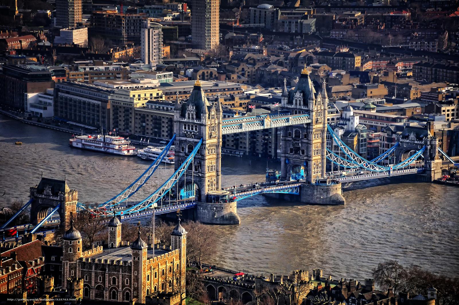Обои тауэрский мост лондон англия
