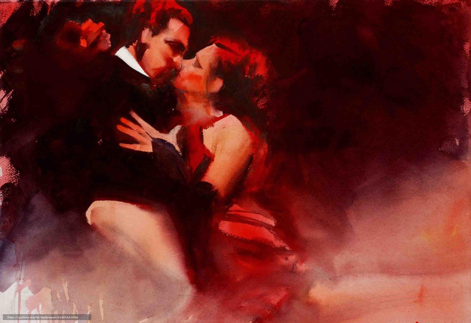 ... рабочего стола в разрешении 2810x1924: ru.gdefon.com/download/dvoe_tango_zhenshhina_tanec_akvarel...