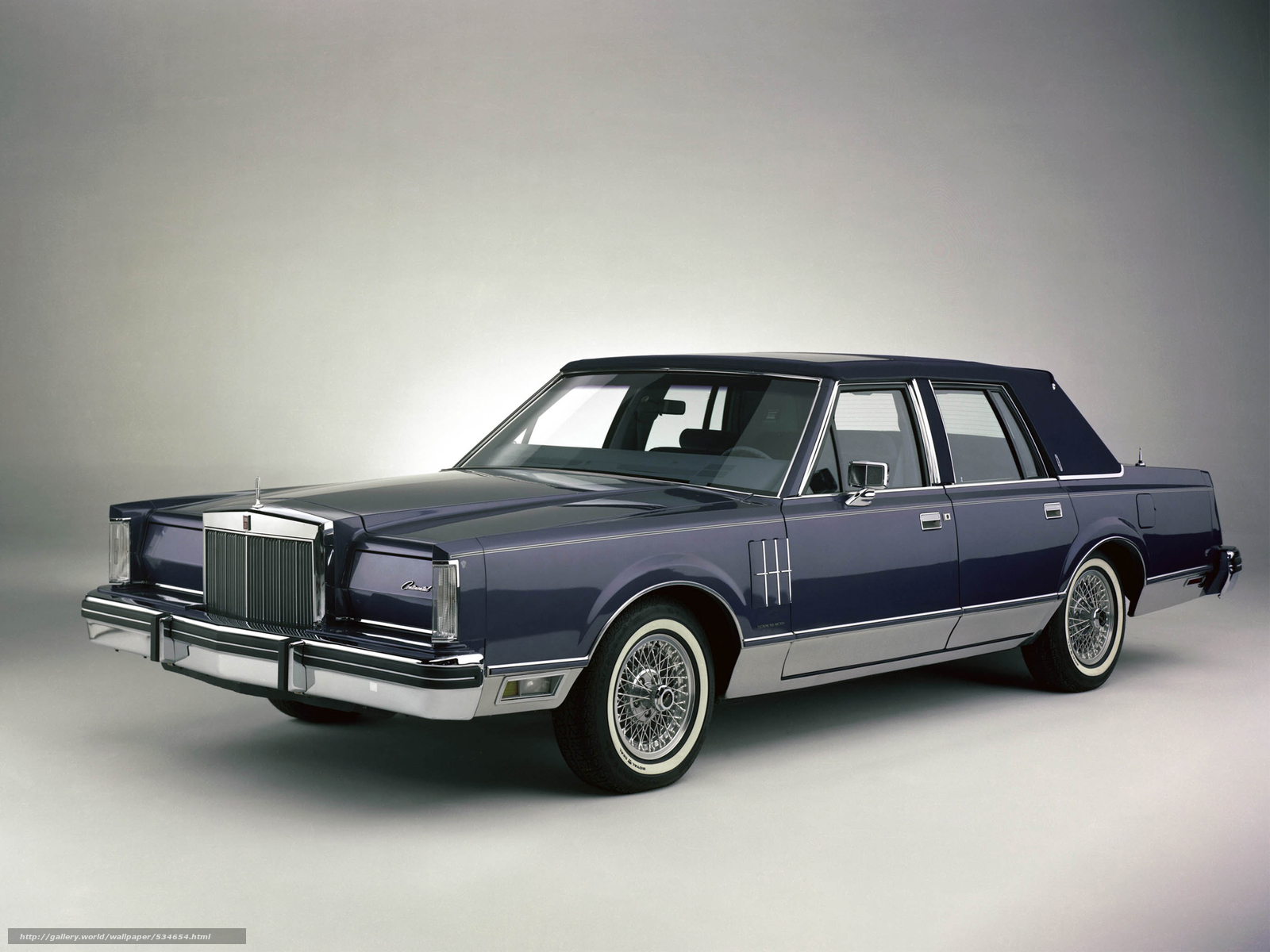Download Wallpaper Lincoln Continental Mark Vi Pucci