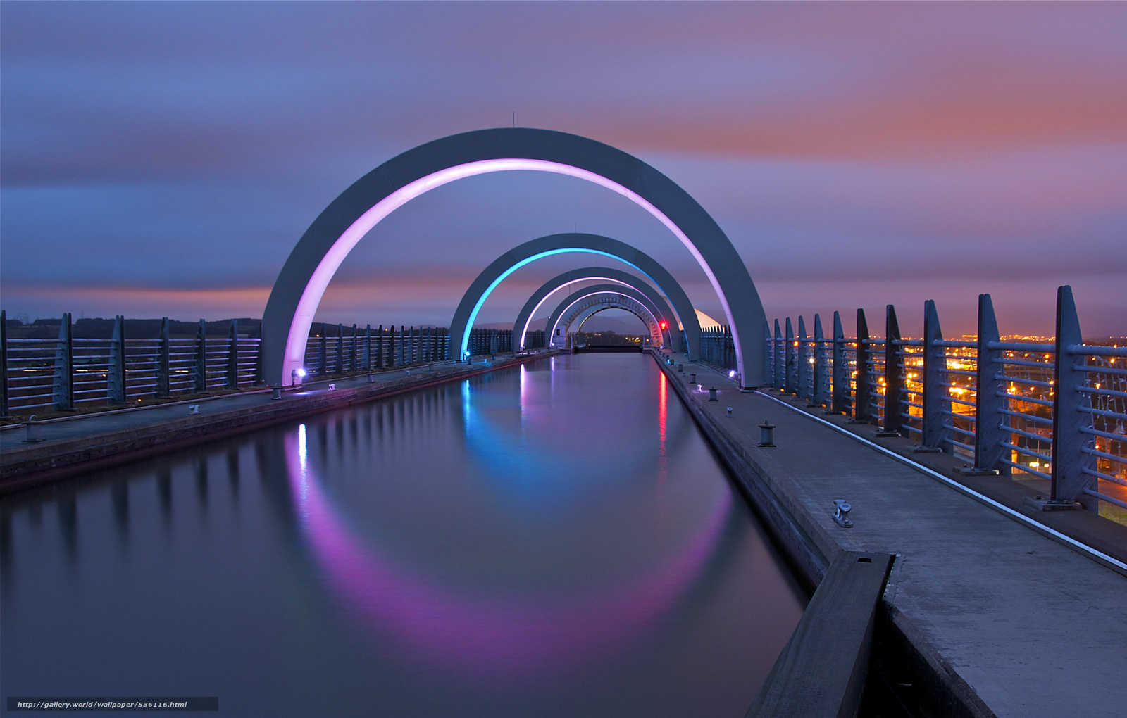 Falkirk United Kingdom  city images : Город: falkirk, night, lights, united kingdom, scotland, great ...