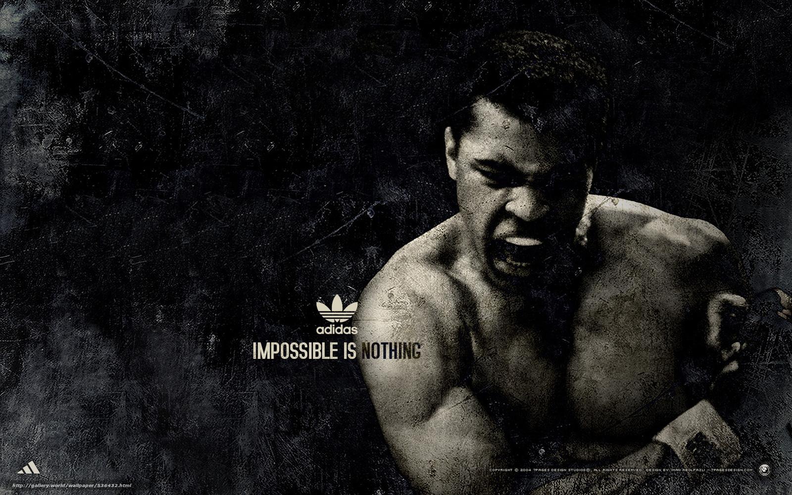 pobra tapety Muhammad Ali, adidas, Sport, bokser Darmowe tapety na ...