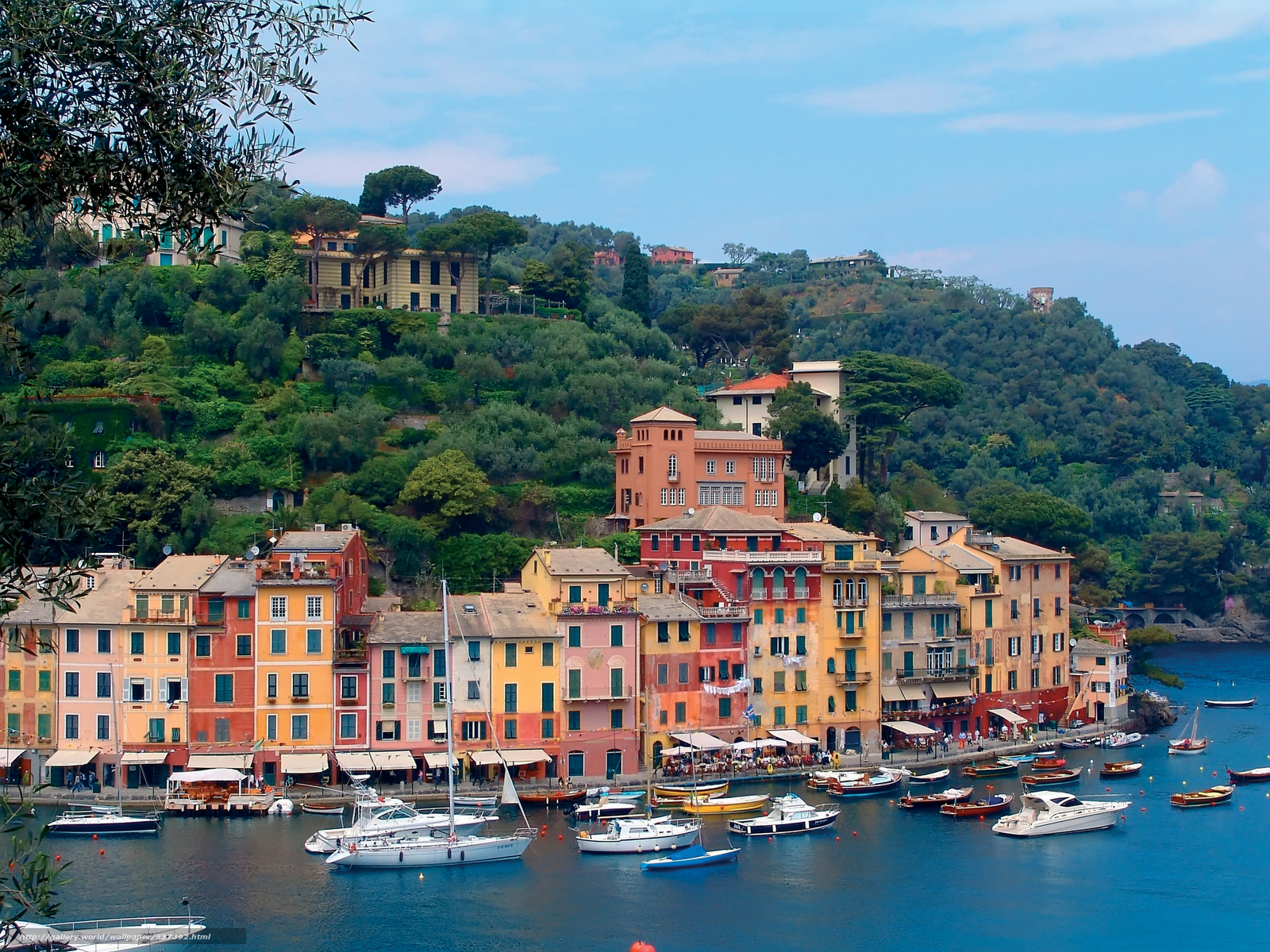 Genoa Italy  city photos gallery : Download wallpaper Portofino, Genoa, Italy free desktop wallpaper in ...