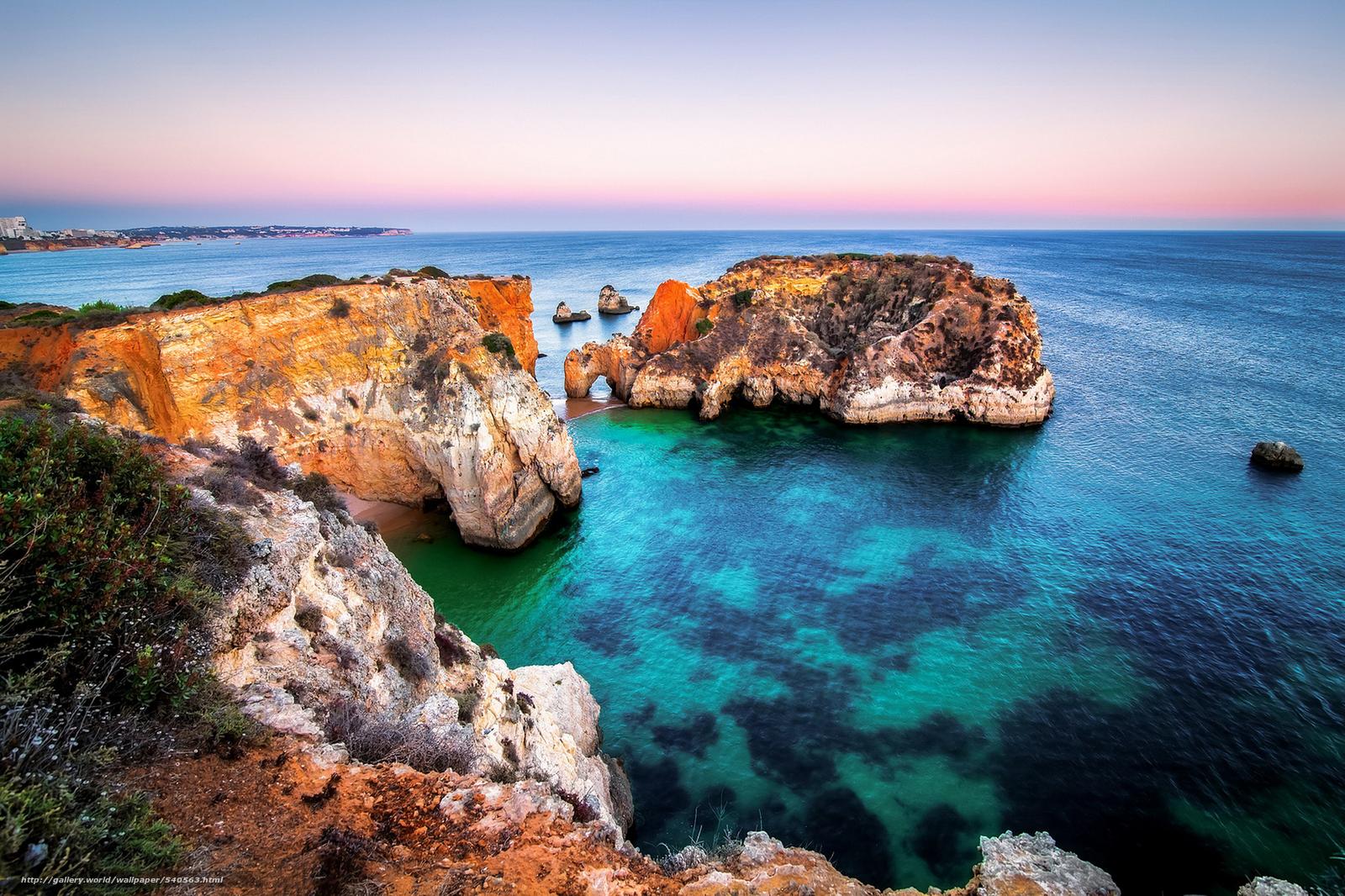 Alvor Portugal  city images : pobra tapety Tylko niektóre skały, Alvor, Algarve, Portugalia ...