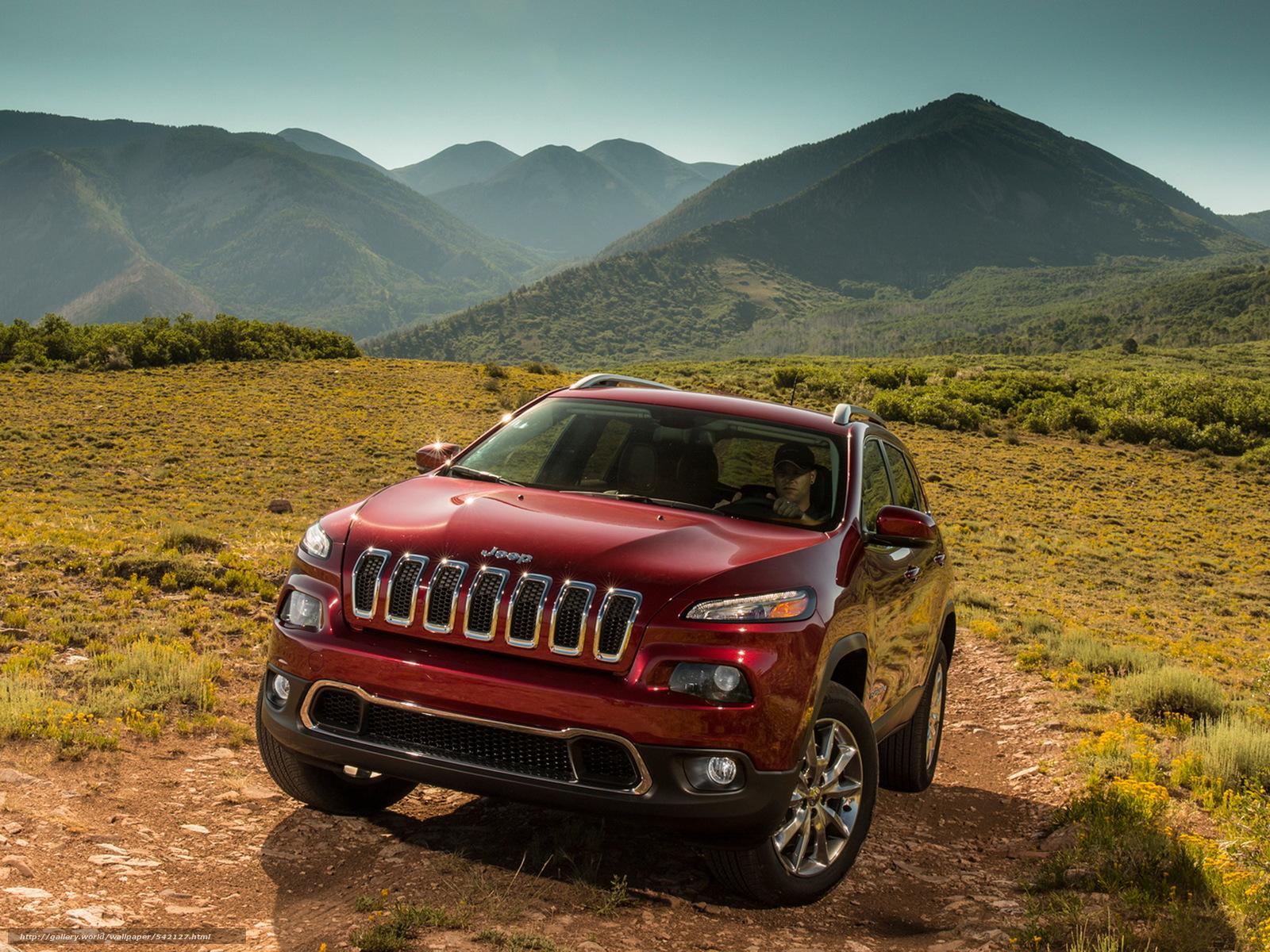 Скачать фото Jeep, Cherokee, L…