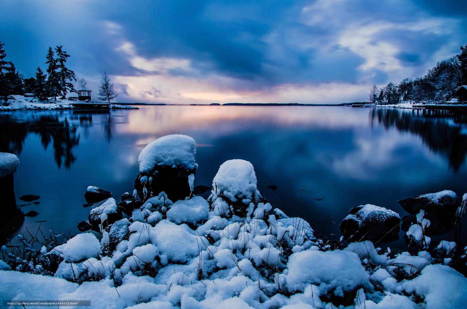 descarca imagini de fundal Suedia,  iarnă,  lac,  arbore Imagini de fundal gratuite pentru rezoluia desktop 4886x3236 — imagine №544772