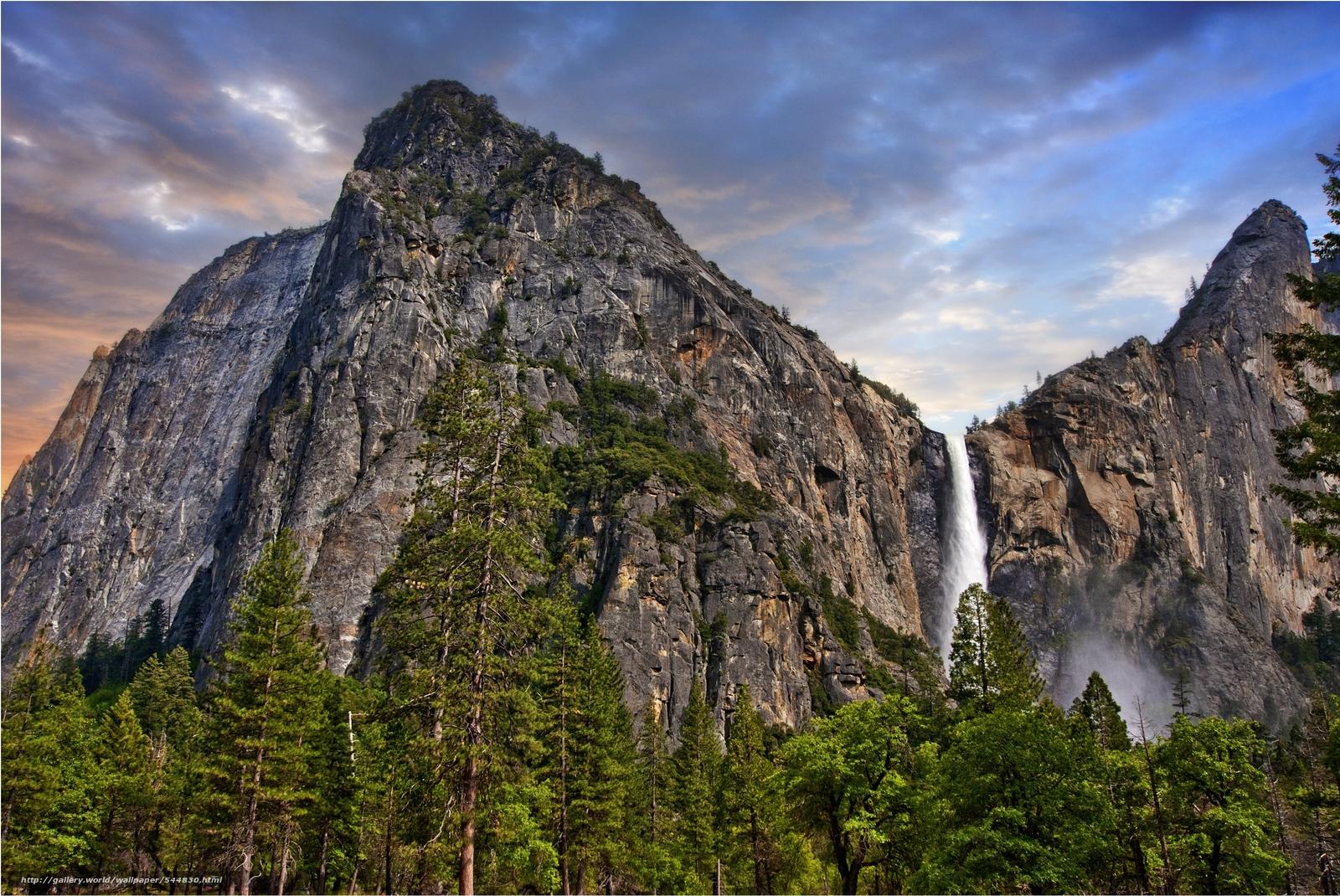 下载壁纸 优胜美地国家公园, 美国, 景观 免费为您的桌面分辨率的壁纸