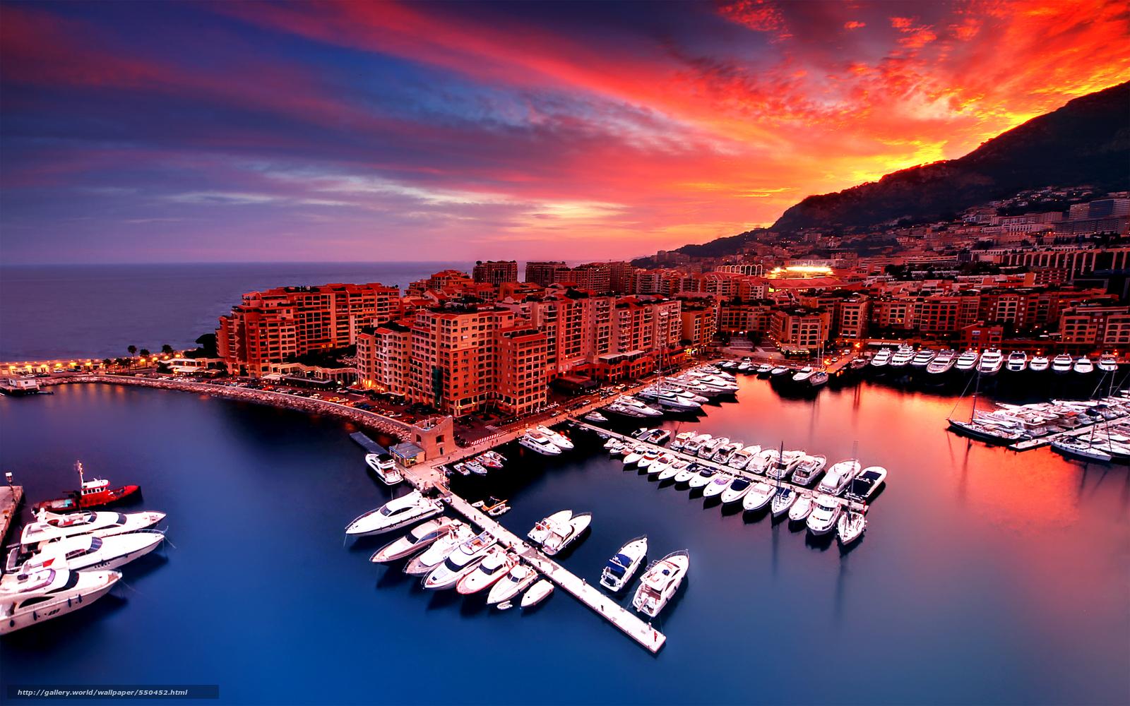 Tlcharger Fond d'ecran Fontvieille, Monaco, ville Fonds d'ecran ...