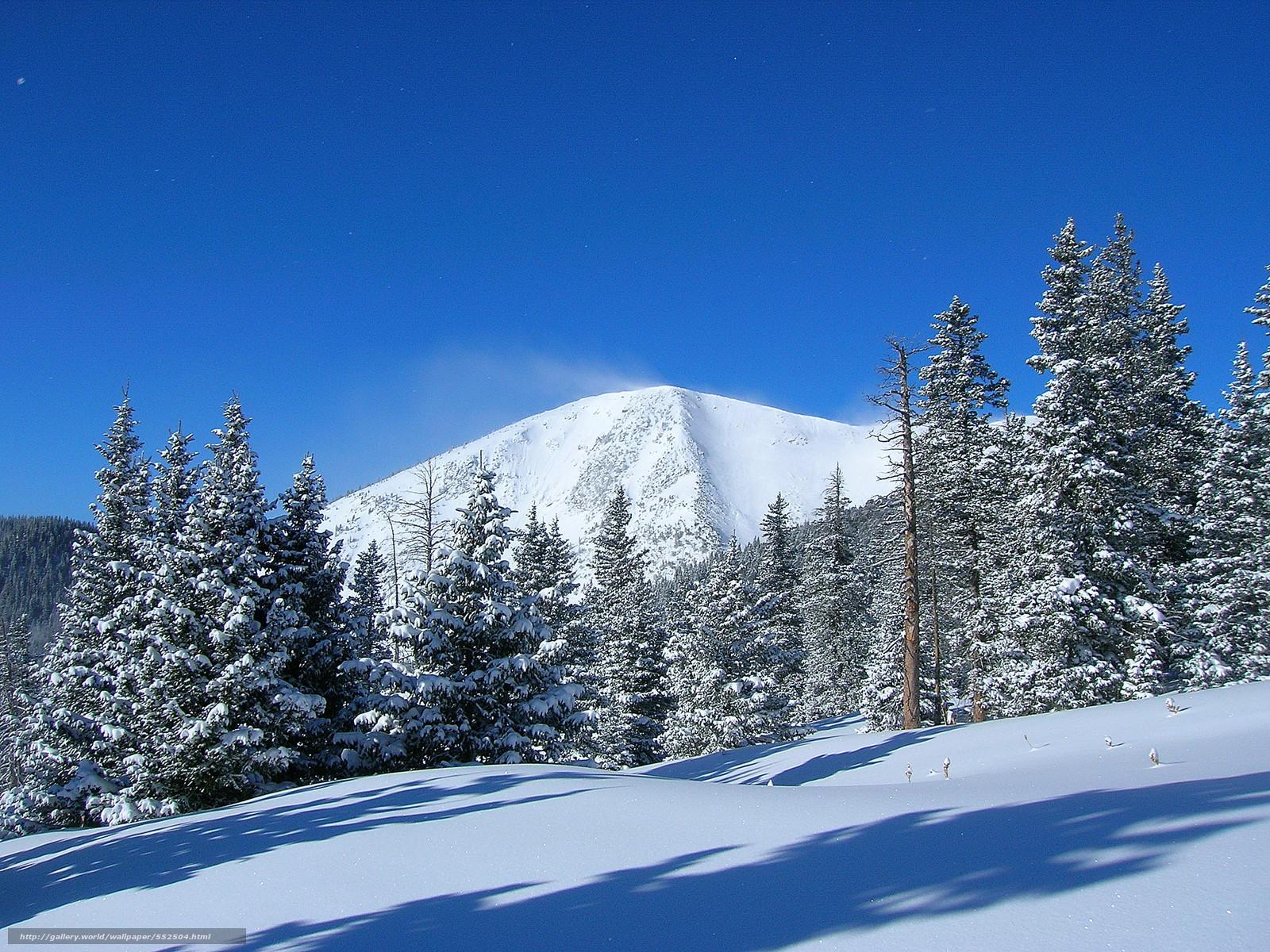 Scaricare gli sfondi montagna alberi inverno paesaggio for Sfondi gratis desktop inverno