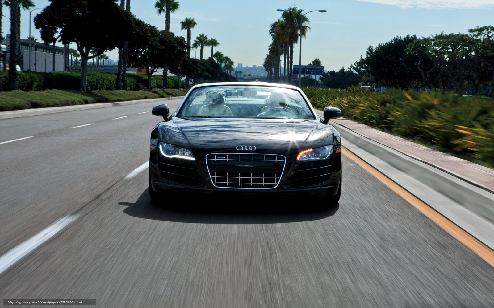 Download Wallpaper Audi R8 Spyder Audi Road Free