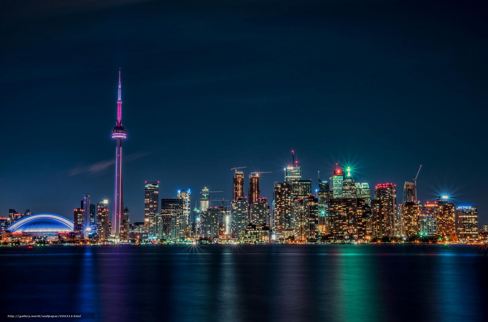 壁紙をダウンロード トロント ライト カナダ オンタリオ デスクトップの解像度のための無料壁紙 2048x1353 絵 №556313