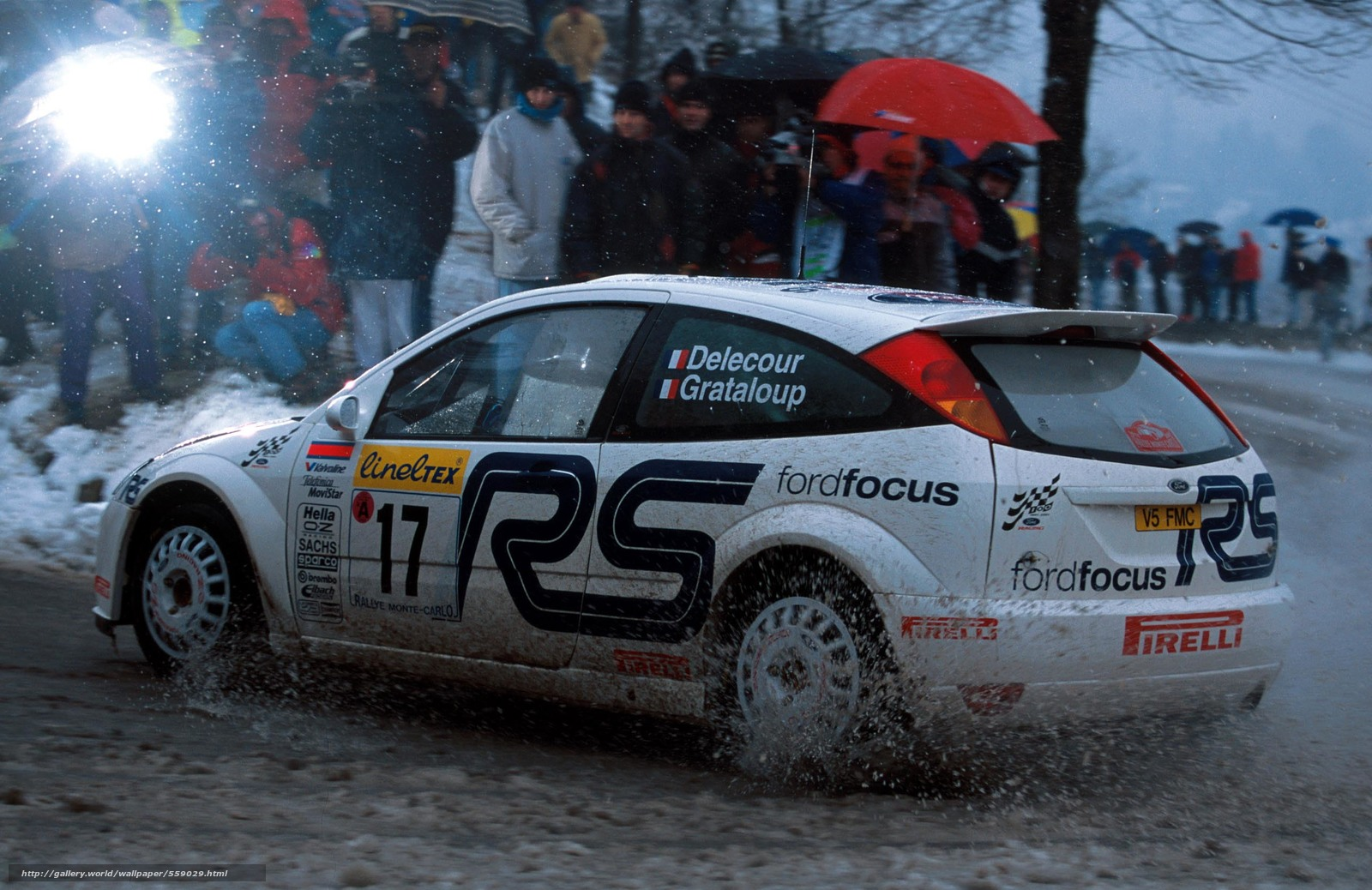 Download Wallpaper Wrc 2001 Rally Monte Carlo Ford Focus