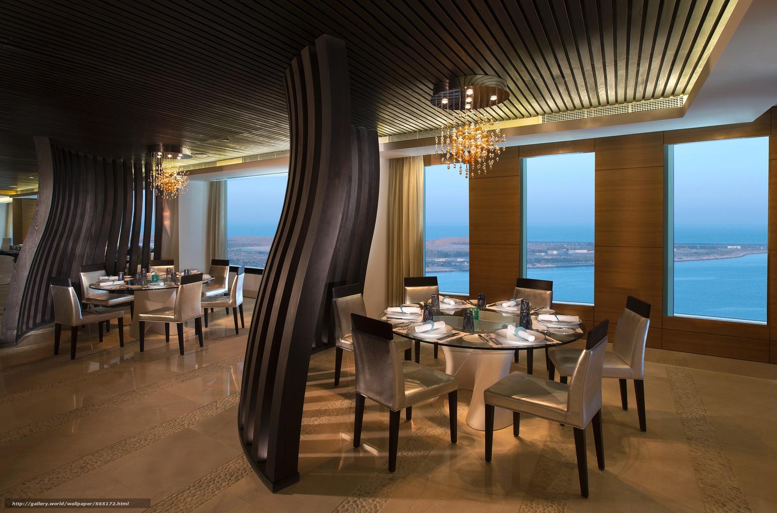 Download wallpaper design restaurant style interior