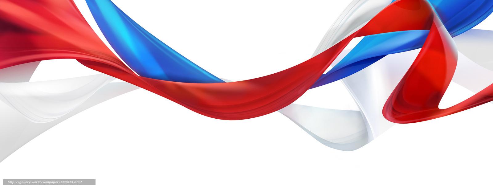 Скачать бесплатно фото флаг россии