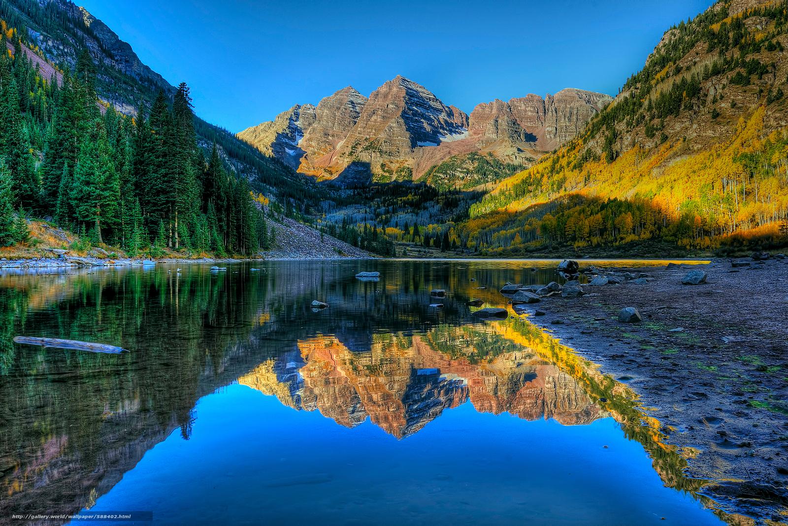 Scaricare gli sfondi lago montagne alberi autunno for Sfondi desktop autunno