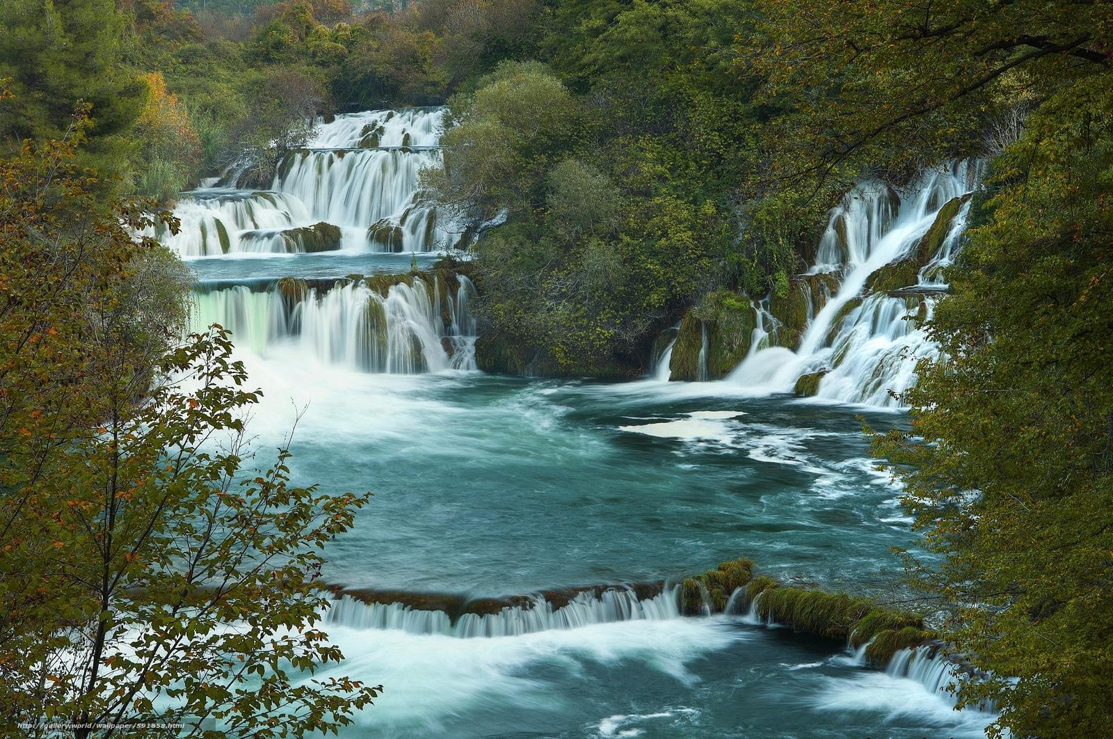 壁纸 风景 旅游 瀑布 山水 桌面 1600_1062
