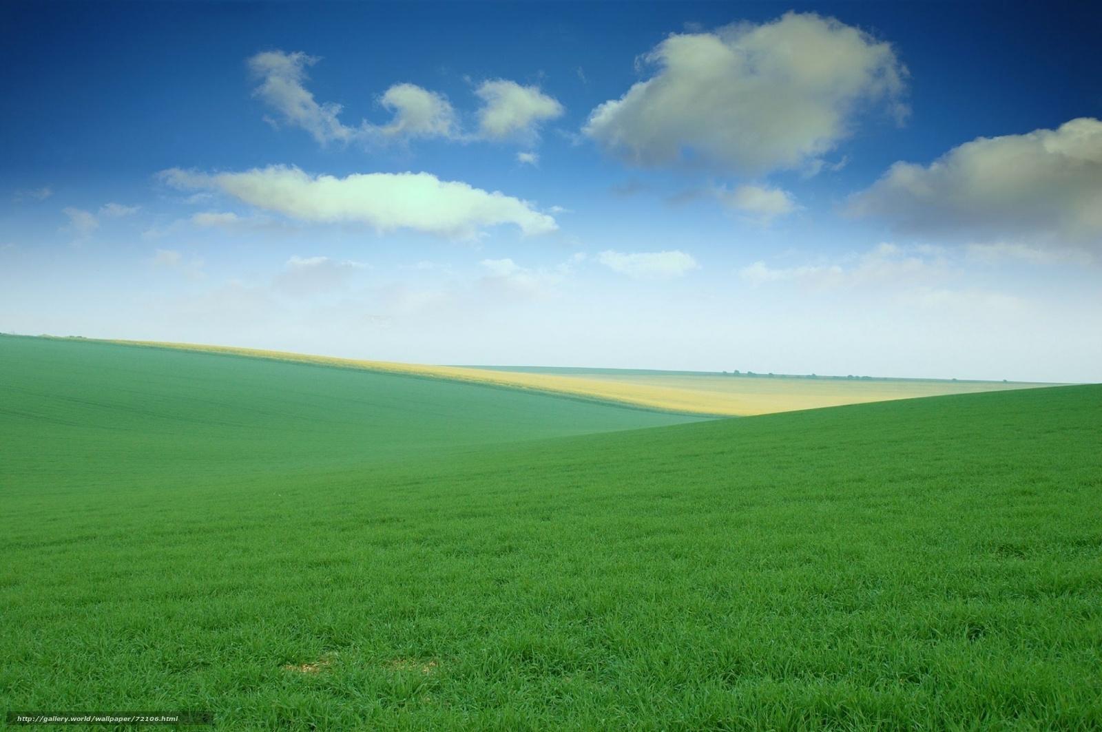 Wallpaper download free - Download Wallpaper Field Sky Grass Meadows Free Desktop